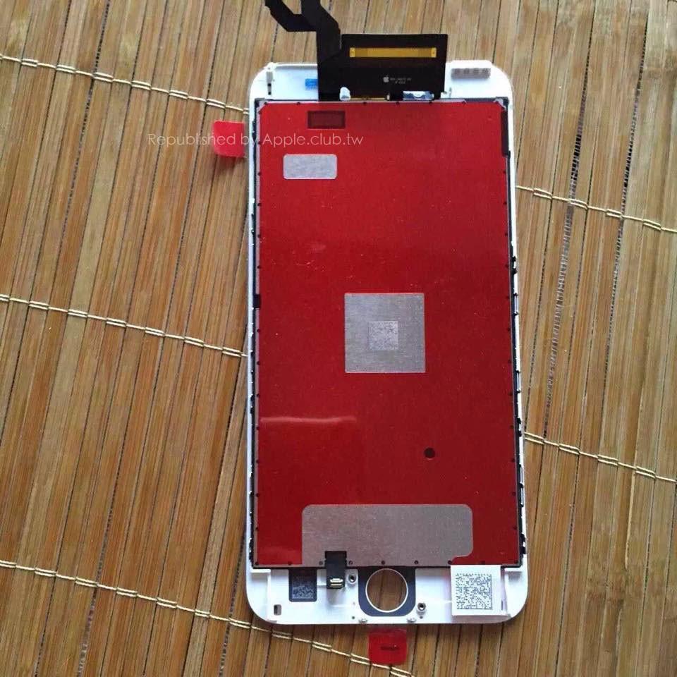 iPhone 6s'e Ait En Net Panel Görüntüleri Yayınlandı!