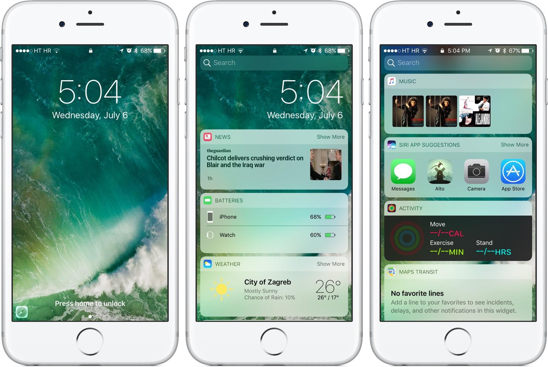 iOS 10 Beta'yı Denedik
