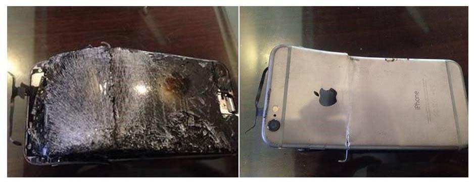 Aşırı Isınan iPhone 6 Patladı!