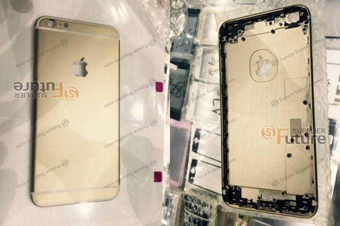 Altın renkli iPhone 6S Plus'tan ilk görüntüler
